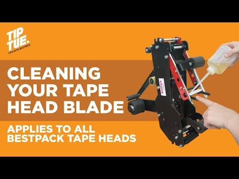 Cleaning your Tape Head Blade