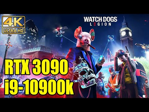 WTFF::: NVIDIA GeForce RTX3090 cannot run Watch Dogs Legion with constant 60fps in 4K/Ultra
