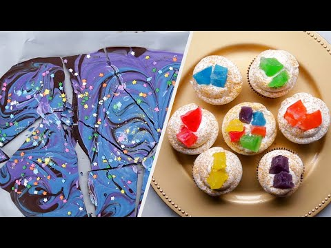 Colorful Sweet Treats for Your Kids ? Tasty Recipes