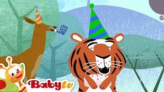 Ulang Tahun Harimau - Kereta Tricky Tracks, BabyTV Bahasa Indonesia