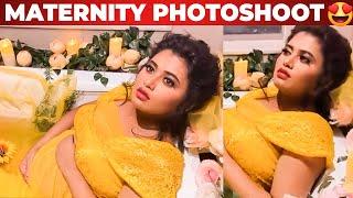 Bathtub-ல் Maternity Photoshoot நடத்திய Farina | Bharathi Kannamma | Venba Photoshoot | Vijay TV