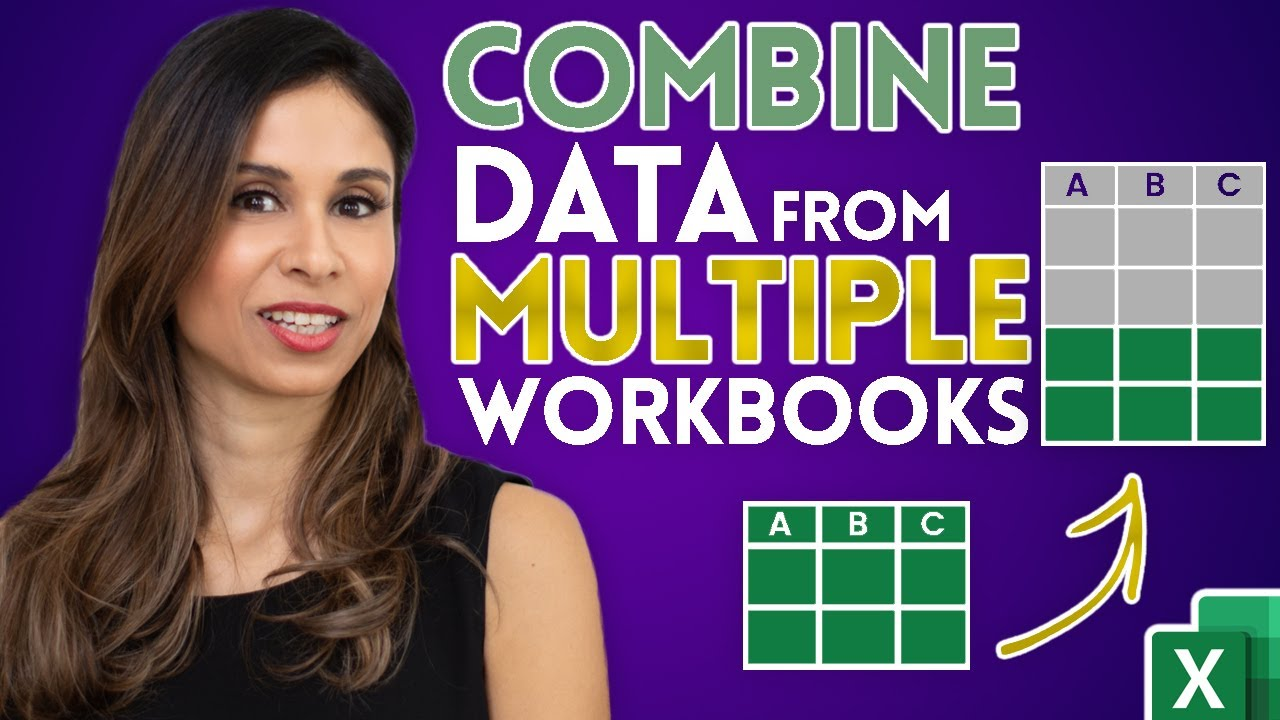 How to Combine Multiple Excel files into one
