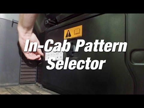 R-Series Excavators: In-Cab Pattern Selector
