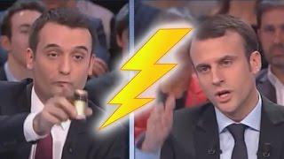 Philippot humilie Macron en direct (FRANCE 2, 12/03/15, 21h)