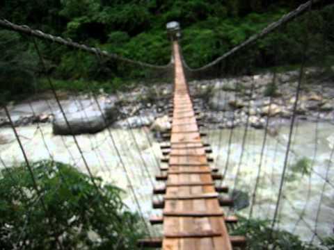 pont penjant al Nepal