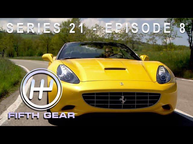 Jonny tests the new Ferrari California