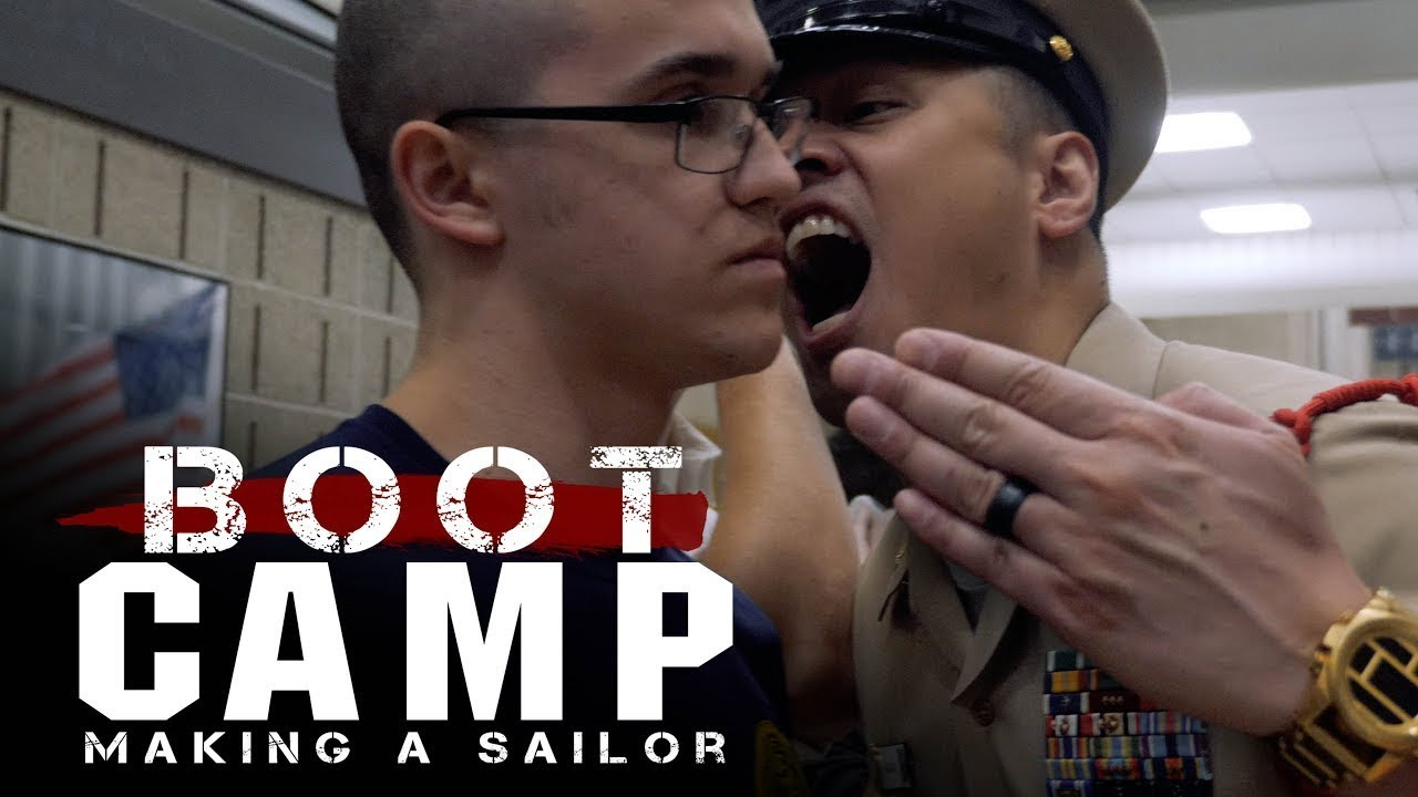 Making a US Navy Sailor • Navy Boot Camp Documentary