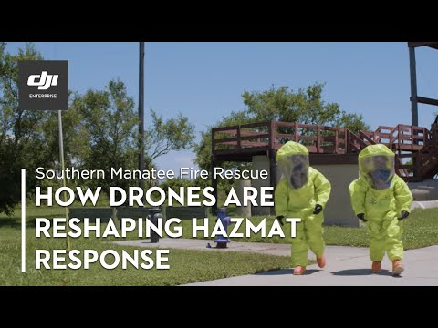 DJI – Hazmat Response: Drones in the Unknown