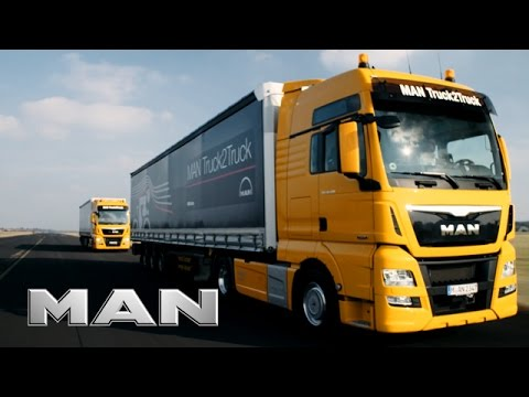 MAN Truck2Truck - European Truck Platooning Challenge 2016