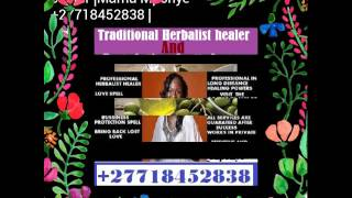 No. 1 Lost love spells caster and High Cults Traditional herbalist Healer +27718452838 MamaMponye