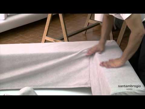 Come costruire un divano di mattoni fai da te mania - Rivestire un divano fai da te ...