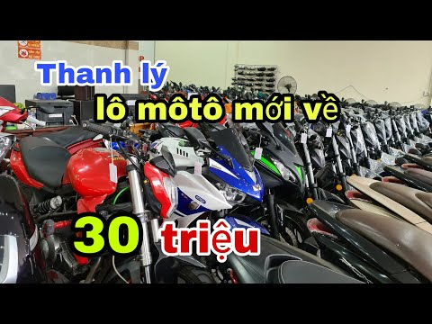 về liên tục những dòng môtô lướt và moto pkl , giảm giá mạnh giữa tháng tư | Mỹ Motor