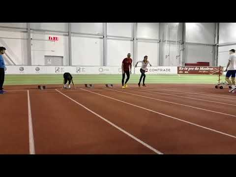 Zorana Barjaktarović - trening
