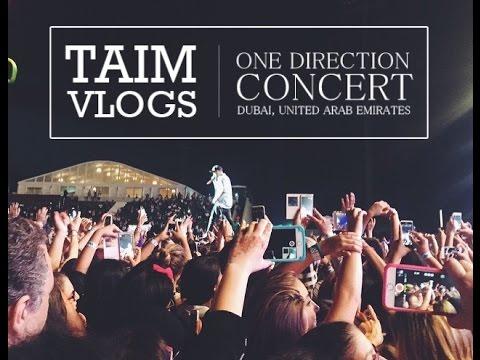 ONE DIRECTION CONCERT IN DUBAI! | حفلة ون دي في دبي