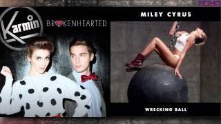 Miley vs Karmin - Broken Ball (Mashup) T10MO