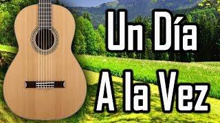 Tutorial - UN DIA A LA VEZ - Acordes en guitarra - MI GUITARRA CRISTIANA