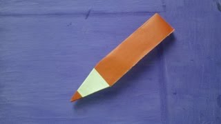 Origami - Lapiz de papel