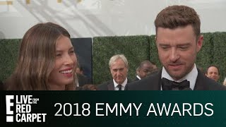 """Justin Timberlake's """"Obnoxious"""" Plan for Jessica Biel's Emmy 