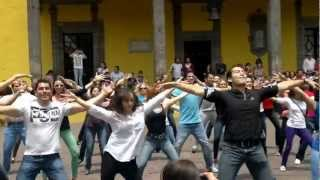 Flash Mob Provocame Coyoacan Mex