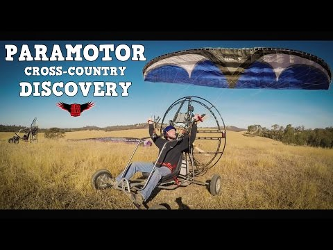Paramotor Pilots Spiral Out of The Sky & Land at Abandoned House - WITH BLOOPERS!