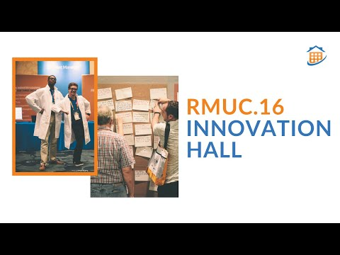 Rent Manager Innovation Hall at RMUC.16