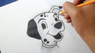Como desenhar o cão Dálmata