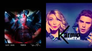 Lady GaGa vs. Karmin - Venus Want It All