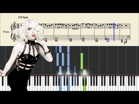 Comment jouer Bad Romance de Lady Gaga au piano
