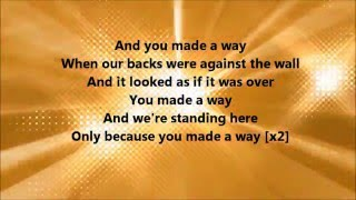 Travis Greene - Made A Way (Lyrics) width=