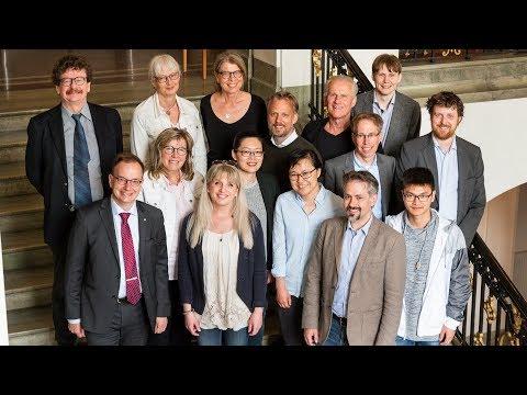 Norrköpings forskningsfond, ceremoni med forskare 28 maj 2019