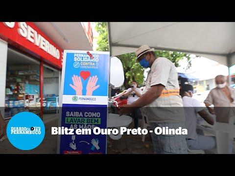 Operação dá máscaras, fiscaliza comércio e limpa ruas em Ouro Preto