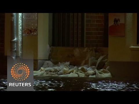 Germany hit by flooding, snowfall