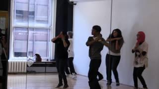 K-Pop Flash Mob Practice