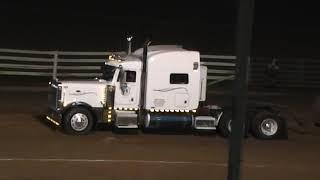Semi truck pull Washington County Fair
