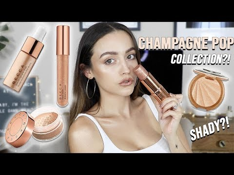 BECCA CHAMPAGNE POP COLLECTION | Try on Review - HIT OR MISS