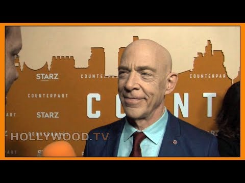 J.K. SIMMONS talks COUNTERPART - Hollywood TV