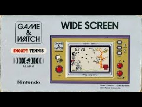 BITeLog 008B: Snoopy Tennis (Game & Watch)