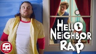 """HELLO NEIGHBOR RAP by JT Music - """"Hello and Goodbye"""" (LIVE ACTION)"""