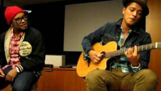 Bruno Mars - Nothin' On You (Solo Remix) (2010 Private Acoustic Live at OMD L.A.)