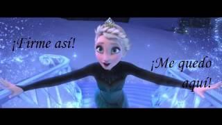 LIBRE SOY   Frozen letra español