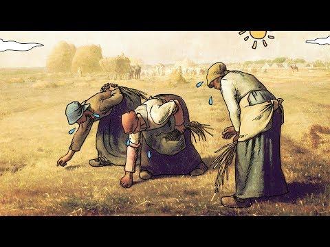【艺术超好玩】26  拾穗者(The Gleaners)——弯下腰,是为了捡起生活的绝望 - YouTube