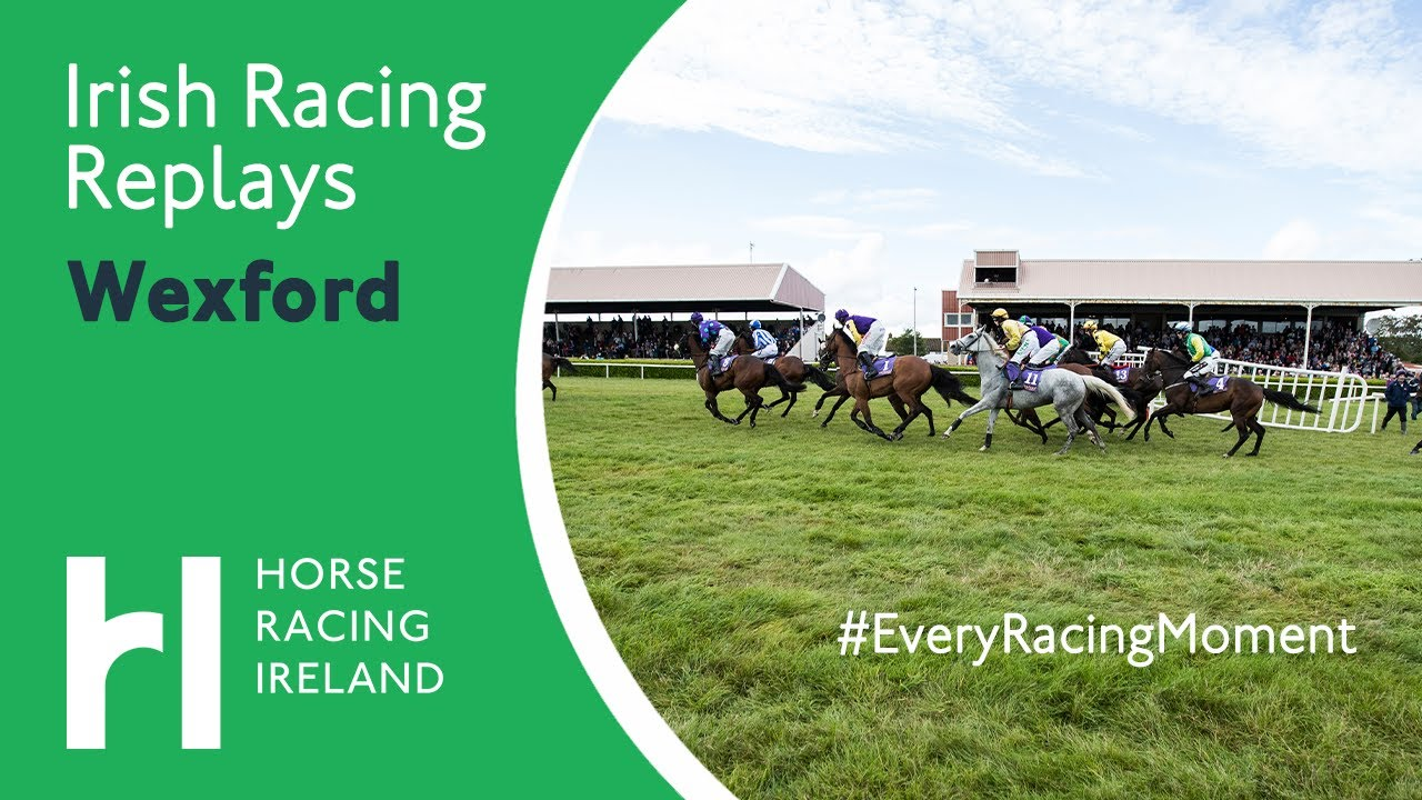 Horse Racing Highlights from Wexford 29th Aug 2020