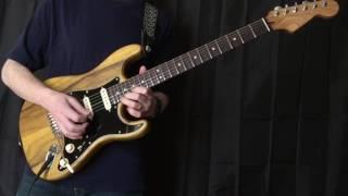 """Partly Sunny"" Instrumental Guitar Improvisation"
