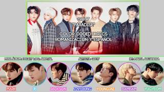 "GOT7 (갓세븐) ""Paradise"" [COLOR CODED] [ROM
