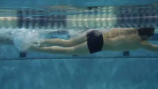 Swimming - Butterfly - Second Kick