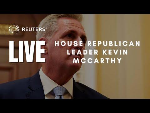 LIVE: McCarthy speaks ahead of government shutdown deadline