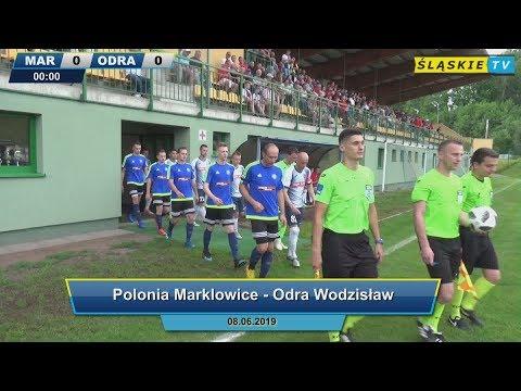 Retransmisja: Polonia Marklowice - Odra Wodzisław 0:2