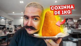 COXINHA DE 1KG EM 10 MINUTOS
