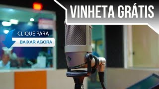 Vinheta Grátis para entrada do bloco de apoio cultural rádio