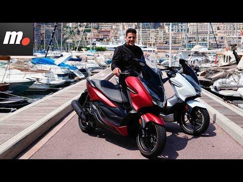 Honda Forza 125/300   Presentación / Primera Prueba / Test / Review en español